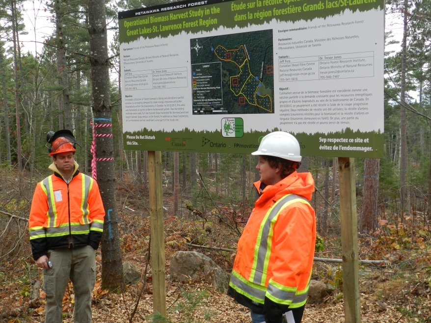 Researchers Jeff Fera and Dr. Trevor Jones discuss the current Operational Biomass Harvest Study.